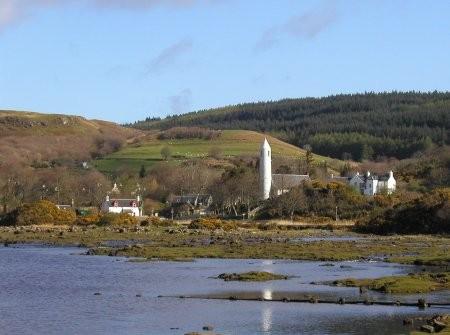 dervaig, mull, glen bellart, scottish islands